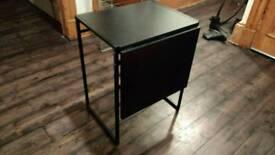 Ikea folding side table