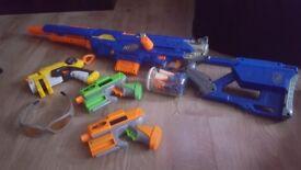 Kids nerf guns