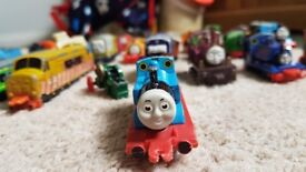 Thomas the tank engine die cast toys.
