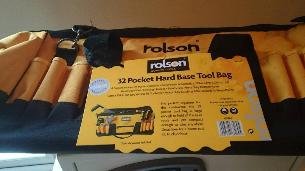 Rolson tool bag. With tags