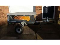 ERDE 102 CLASSIC TRAILER LIKE NEW WITH NEW COVER AND TUV CERTIFICATE