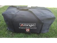 Vango Diablo 600 canvas in good used condition all parts in the bag!Can deliver or post!