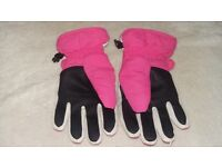 Girls ski gloves