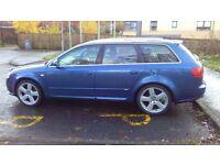 audi a4 avant tdi s line turbo diesel 2006 56 plate