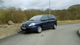Citreon c8 2.2 hdi 6 seater 2006 model with mot till January