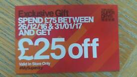 Superdry voucher