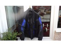 BUFFALO MOTOR YCLE WATERPROOF SUIT JACKET AND TROUSERS