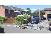 Trailer chassis for sale, twin axle