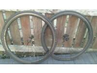 Knights Clincher 35s Carbon Wheels