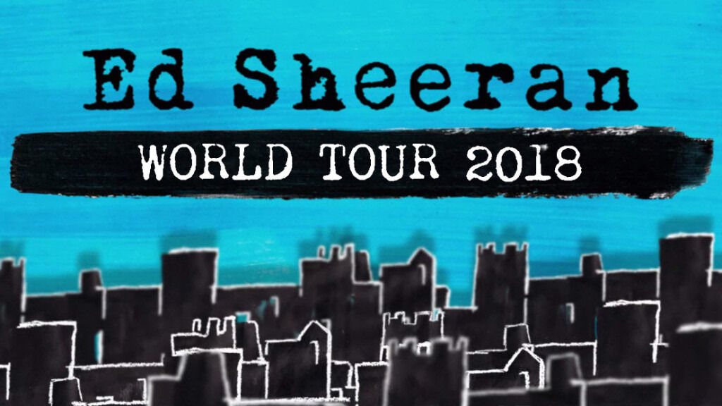 ed sheeran tickets x 4 thu 21st june 2018 cardiff principality stadium in broadmead. Black Bedroom Furniture Sets. Home Design Ideas