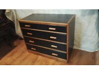 Vintage School Chest of Drawers - Painted & Refurbished