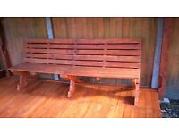 Garden Bench made from Pallet