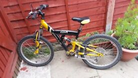 "20"" apollo chaos boys mtb bmx bike bicycle"