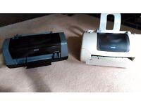 Two Epsom printers