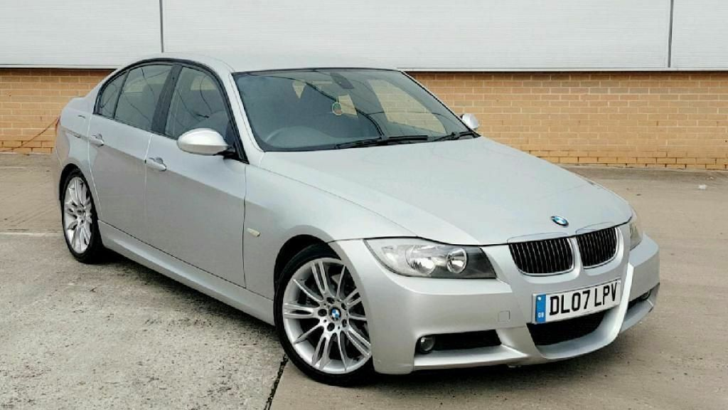 2007 bmw 325d m sport e90 6 speed manual 3 0 diesel silver f s h hpi clear not 320d 330d 335d. Black Bedroom Furniture Sets. Home Design Ideas