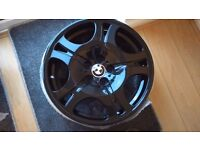 "BMW 19"" Staggered Alloy wheels 19""x9"" 19""x10"" x 5 T4 T5 VW"