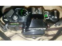olympus camera OM 40 body spare parts only
