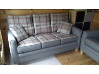 3 seater sofa and 1 armchair