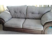 2 and 3 seater sofas excellent condition