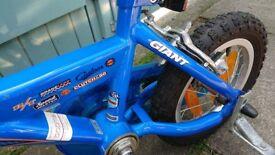 Little boys bike GIANT ex condition