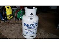 13kg Butane gas bottle
