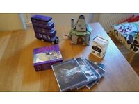 Harry Potter Collection - Lego Knight Bus/Hagrid's Hut, Film score CD's, Audio book/colouring book