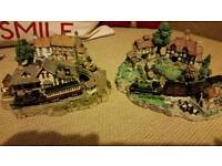 4 lilliput models all with trains