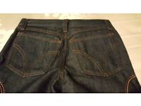 Stunning D&G size 8 petite denim and suede jeans. Brand new. Without tags