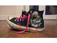 UK Size 7 Blondie Converse All Star Hightop Boots