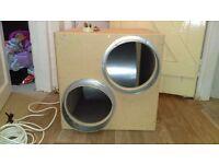"""10"""" twin inlet box fan hydroponic"""
