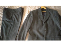 Men's Ives Saint Laurent striped suit