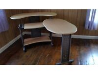 Good Condition Pull Out Desk