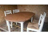 Table. And chairs