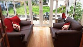3x3 white double glazed upvc conservatory for sale in very good condition