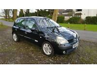 2004 RENAULT CLIO 1.5 DCI DIESEL INITIALE, 100 BHP, 55+ MPG, £30 TAX/YEAR, V GOOD CONDITION