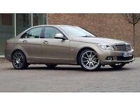 Mercedes-Benz C Class 2.1 C220 CDI Elegance 4dr(( 1 FORMER KEEPER+FSH+W.MILEAGE+SAT NAV))