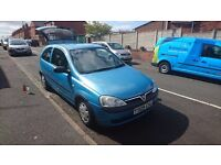 Vauxhall Corsa 1.2 V low mileage!!!