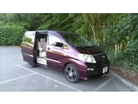 Toyota Alphard 2002 2.4 4WD Petrol and LPG gas fueled