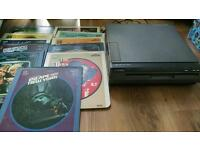 CED Videodisc player and 11 discs