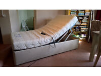 heavy duty electric bed for sale £300 ono hardly used worth viewing