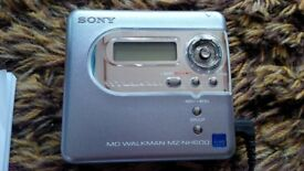 Brand new Sony Hi-MD Minidisc recorder Walkman