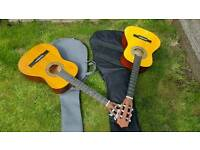 Guitars x 2 with cases