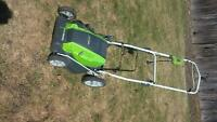 Electric Lawnmower, Corded