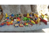Assorted quality wooden toys job lot
