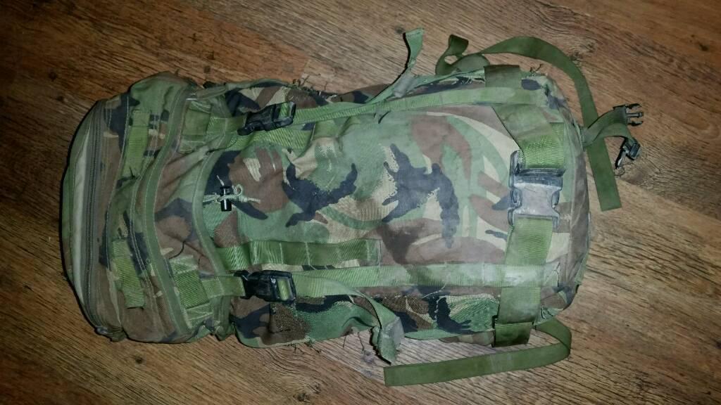 DPM bergen Daysack Backpack Rucksack 30l