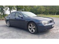BMW 730 D 2003 Blue 194500 mil. Drives perfect no problems