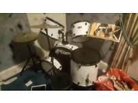 Tiger full size 5 piece drum kit
