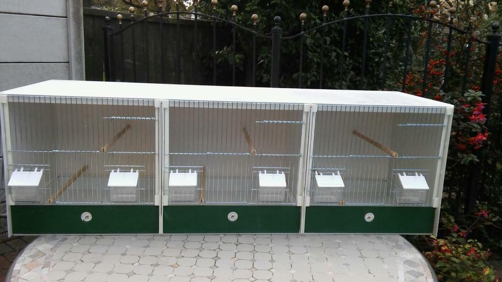 JH triple breeding cages