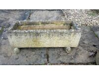 Rectangular stone planter/plant pot