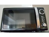 As new 800w Black and chrome microwave